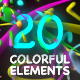 Colorful Elements