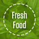 Fresh Food – Organic Food/Fruit/Vegetables eCommerce PSD Template