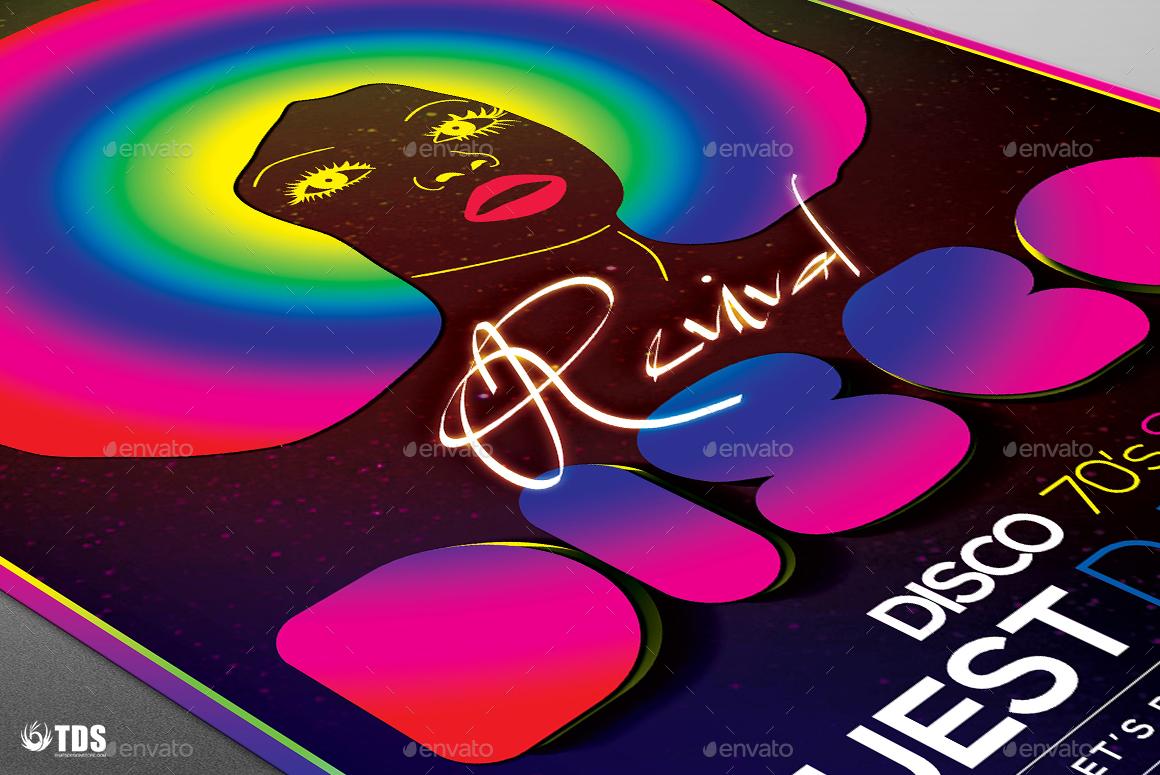 disco revival flyer template v by lou graphicriver revival flyer template v2 jpg
