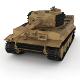 Panzer Tiger Tank Late 1944 v1