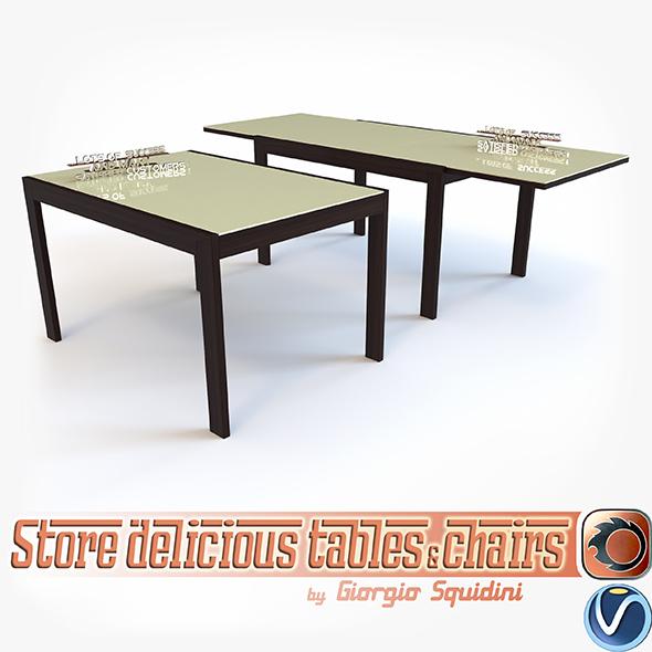 Table NEW SMART G/4704-V OLIVO & GODEASSI - 3DOcean Item for Sale