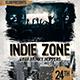 Indie Zone Flyer