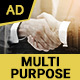 Multipurpose Business HTML5 Banners - 07 Sizes
