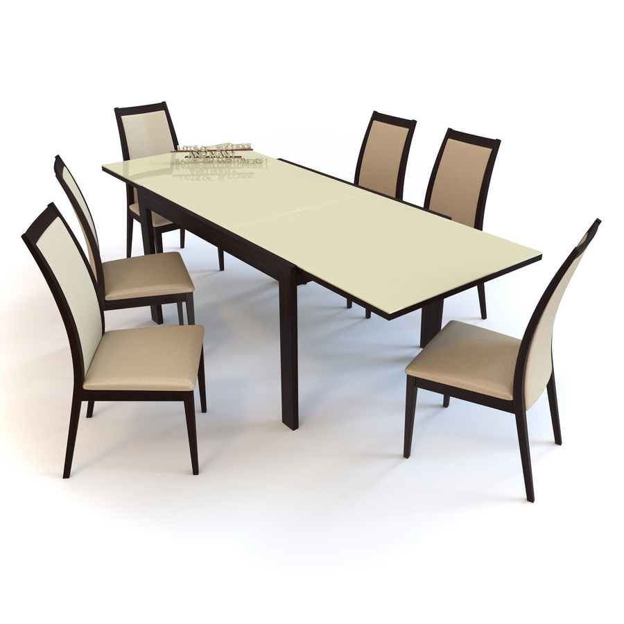 Chair CORTINA amp Table NEW SMART G4704 V dining set OLIVO  : 003PIC from 3docean.net size 900 x 900 jpeg 265kB