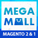 MegaMall- Multi-purpose & Supermarket Magento 1.9 & Magento 2.1 Theme (8 creative Designs)
