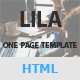 Lila - One Page Parallax