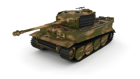 Panzer Tiger Tank Late 1944 v2 - 3DOcean Item for Sale