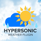 Hypersonic-Weather Plugin