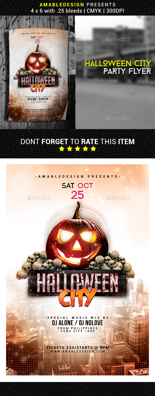 Halloween City Flyer/Poster