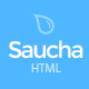 Saucha - Marketing & SEO Services Template