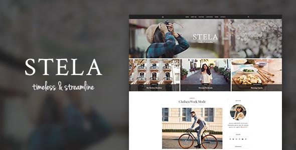 Stella - Personal Blog Template