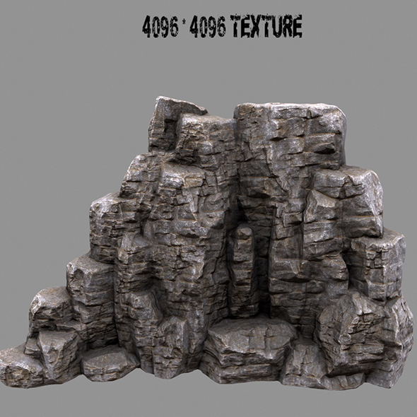 rock_mount - 3DOcean Item for Sale