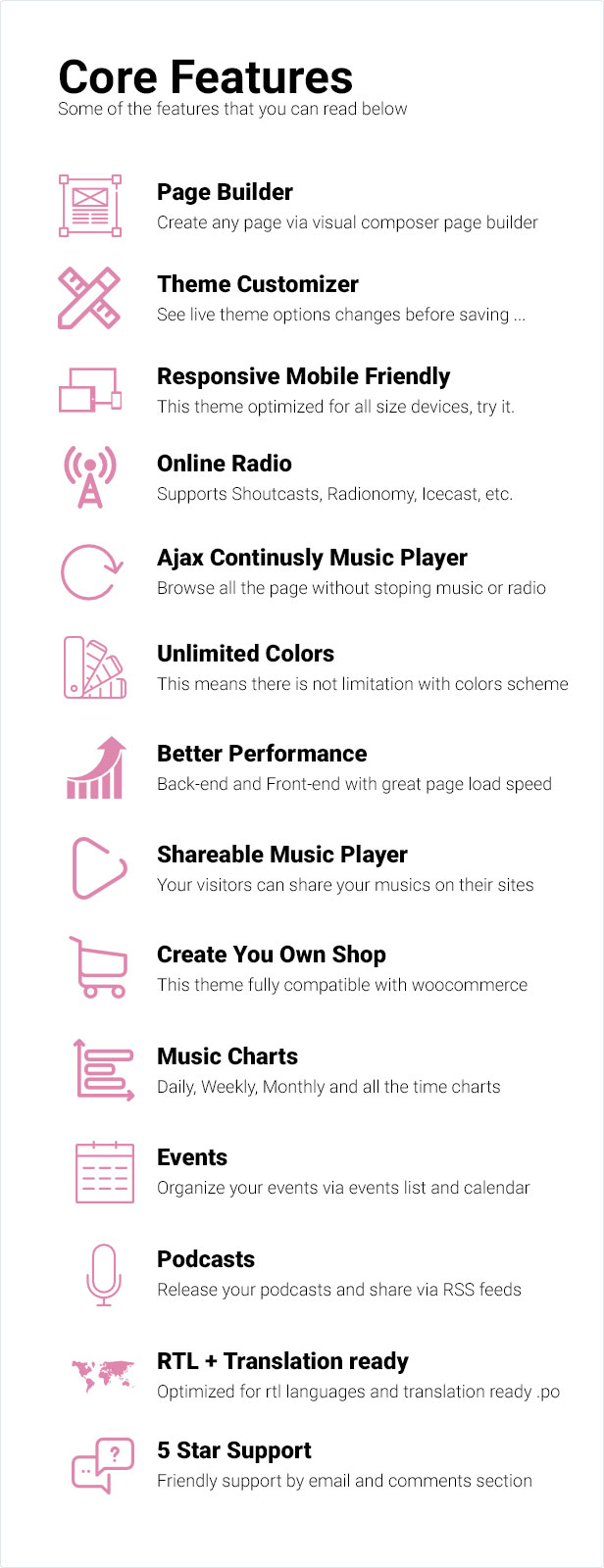 Remix Music WP Theme