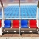 Seating for Coaches and Players at the Stadium