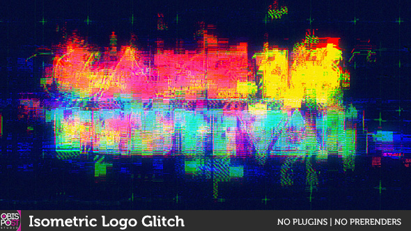 Download Isometric Logo Glitch nulled download
