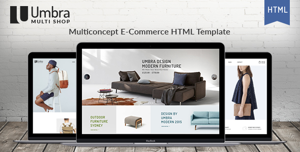 Umbra - Multi Concept e-Commerce HTML Template