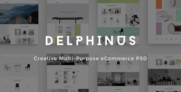 Delphinus - Commerce Drupal Theme