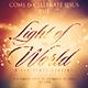 Light of the World - Church Christian Themed Flyer