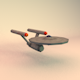 Low Poly Enterprise NCC 1701