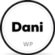 Dani - A Storming Portfolio & Blog WordPress theme