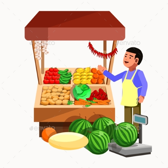 Vegetables And Fruits Product Seller