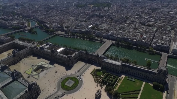 Download Aerial View Of The Paris nulled download