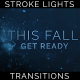 Title Text Stroke Particles Lights Transitions 7 Pack