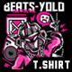 Beats-Yolo T-Shirt Design