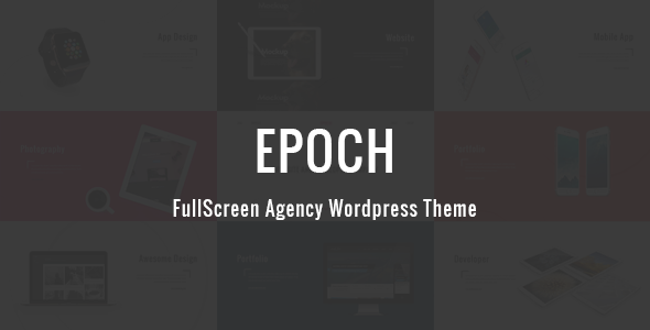 Download Epoch - FullScreen Agency WordPress Theme nulled download
