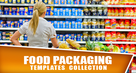 Food & Drink Packaging Templates