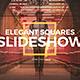 Elegant Squares Slideshow