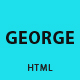 George - Responsive vCard / Resume / CV Template