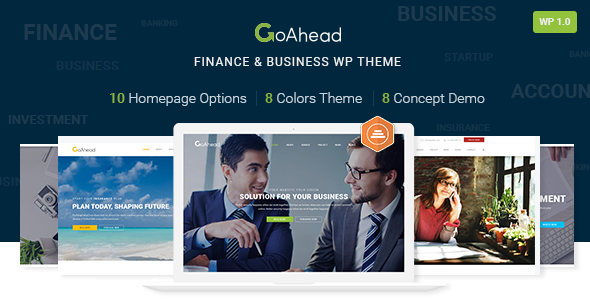Download GoAhead – Finance & Business WordPress Theme nulled download