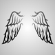 Download Vector Wing Ornament 2