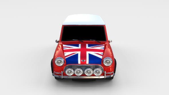 Mini Cooper Rally Edition - 3DOcean Item for Sale