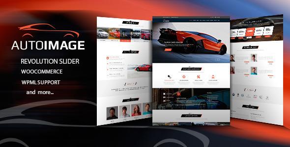 Auto Image - WordPress Car Dealer theme