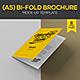 Bi-Fold A5 Mock-Up Template