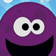 Purple Monster Business Card - GraphicRiver Item for Sale