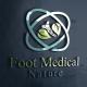 Foot Medical Nature Logo