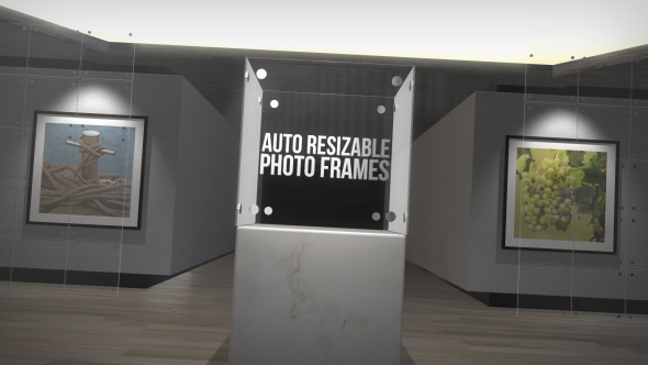 3D Photo Gallery Auto Resize Slideshow (3D, Object) After