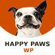 Happy Paws - One Page WordPress Theme