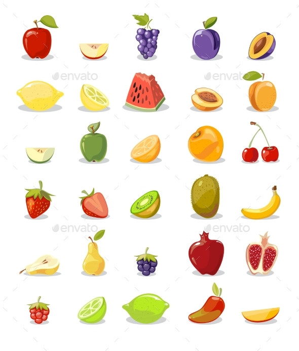 Fruits and Slices Collection