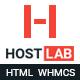 WHMCS + HostLab - Responsive Hosting Service Template