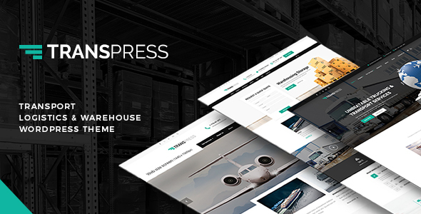 Transpress – Transport, Logistics & Warehouse WordPress Theme