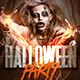 Halloween Party | Zombie Flyer Template