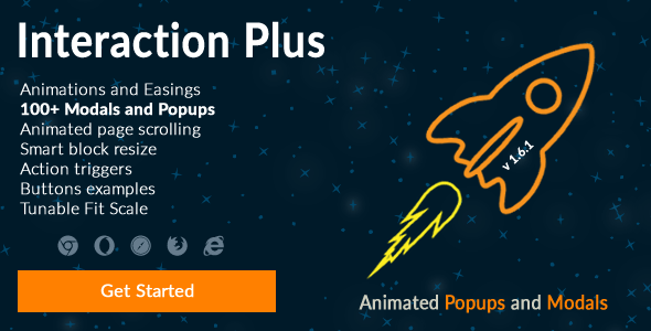 Interaction Plus: JS - Animated Popups and Modals