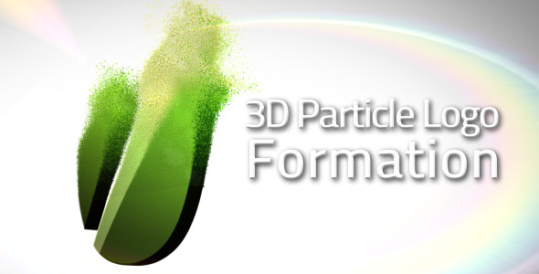 After Effects Project - VideoHive 3D Particle Logo Formation 1791218