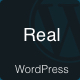 Real - Blog and Magazine Clean WordPress Theme
