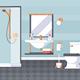 Bathroom and Laundry Room