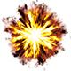 Explosion Debris